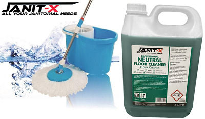 Janit-X Professional Neutral Floor & hard Surface Cleaner 5 Litre