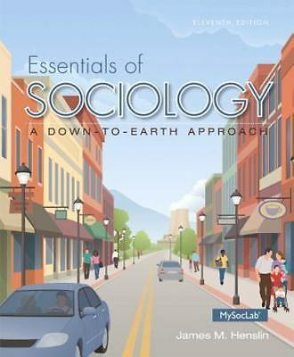 Essentials of Sociology by James M. Henslin (2014 11th Edition) - GOOD CONDITION