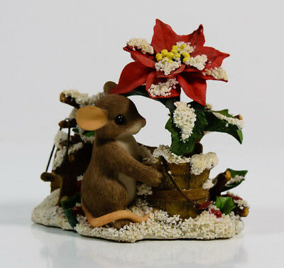 Charming Tails You Add Color To The Season Christmas Mouse Fitz & Floyd 87/156 *