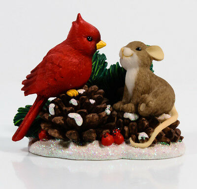 Charming Tails You Are So Beautiful To Me Christmas Cardinal Enesco 4027659 *