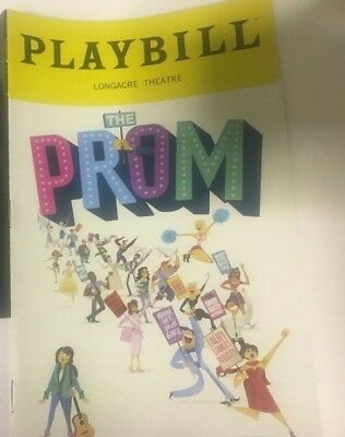 THE PROM Playbill Broadway Musical Beth Leavel Christopher Sieber Cas. Nicholaw