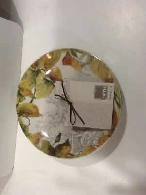 222Fifth Brouette Thanksgiving 4 New Appetizer Dessert Plates