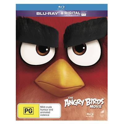 NEW The Angry Birds Movie Blu-ray Family