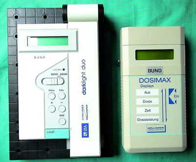 Dosimax Darklight Duo IBA Wellhöfer Dosimetrie X-Ray Medical Imaging Dosimetry