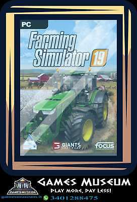 FARMING SIMULATOR 19  PC/MAC - Italiano Originale - Farm 2019 FS FarmVille
