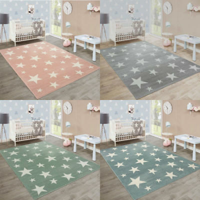 Modern Rug Bedroom Carpet Stars Pattern Mats Small Large Living Room Rugs New