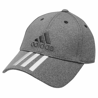 Adidas Mens / Kids Performance 3S Sports Peak Cap Baseball Adjustable Gray