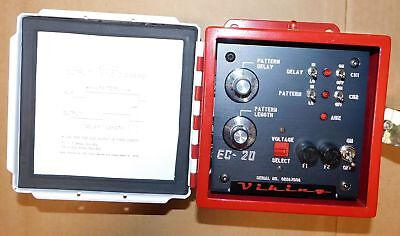 Viking Industries EC-20 Hot Melt Pattern Controller New