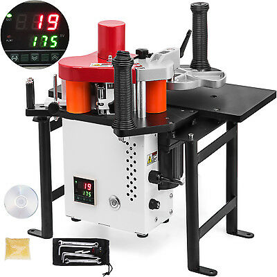Woodworking Portable Edge Banding Machine 220V 0.3-3mm Thick 10-45mm Width