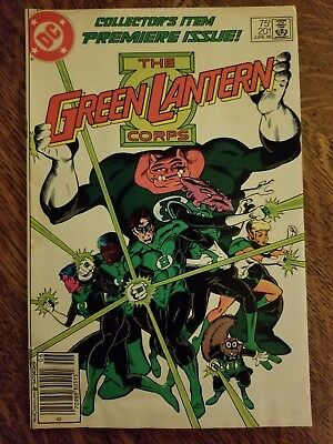 Green Lantern (1960) #201 - Good - intro Kilowog - Newsstand, reader copy