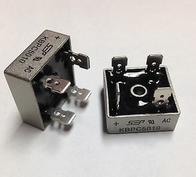 Bridge Rectifier 1ph 50A 1000V 50 Amp Metal Case/1000 volt 50a Diode 20 pcs US