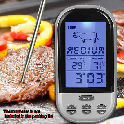 Meat Thermometer Kitchen Tool Digital Food Probe Grill Barbecue BBQ Thermometer_
