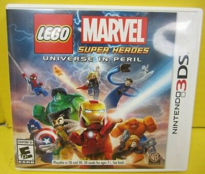 LEGO Marvel Super Heroes - Universe in Peril Complete Game (Nintendo 3DS, 2013)