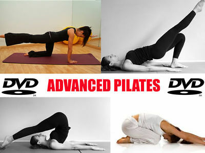 Learn Advanced Pilates DVD Fitness Weight Loss Workout excercise fat loss