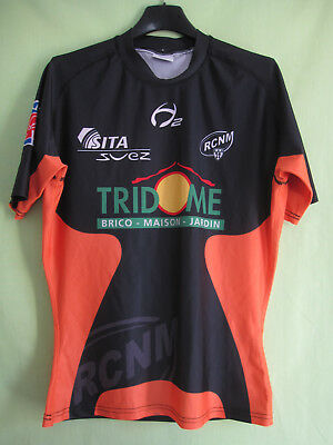 Maillot rugby Narbonne vintage RCNM Tridome Suez Jersey - S
