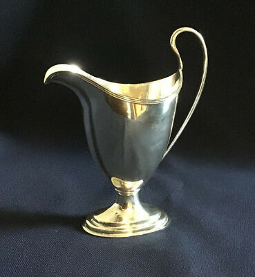 Antique Solid Silver Helmet Jug By George Nathan And Ridley Hayes Chester, 1900