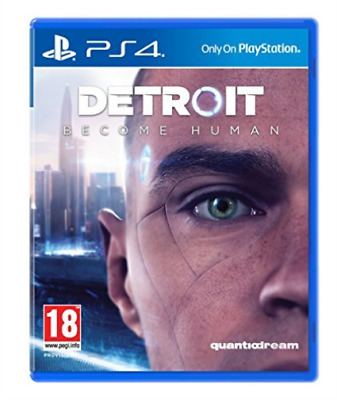 Ps4-Detroit: Become Human Ps4 Uk Game New