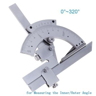 Angle Ruler Universal Protractor Steel Goniometer Inner Finder Measuring Tools