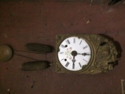 French Country Grandfather Clock - Antique