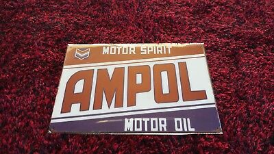 Ampol Tin Sign