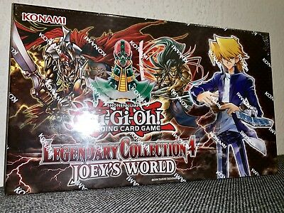 YU-GI-OH Legendary Collection 4 Joey's World | English | 1st Edition | Sealed