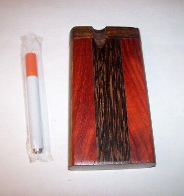 "4"" Wood Dugout One Hitter Smoking Pipe"