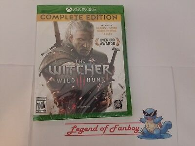 New * The Witcher III 3  Wild Hunt  Complete Edition - Xbox One Game of the Year