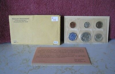1959 Silver Proof Set With Coa