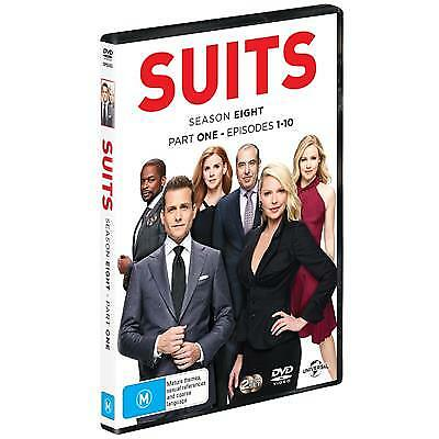 Suits : Season 8 : Part 1 (DVD, 2018) (Region 4) New Release