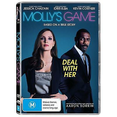 Molly'S Game (2018) (DVD) (Region 4) New Release