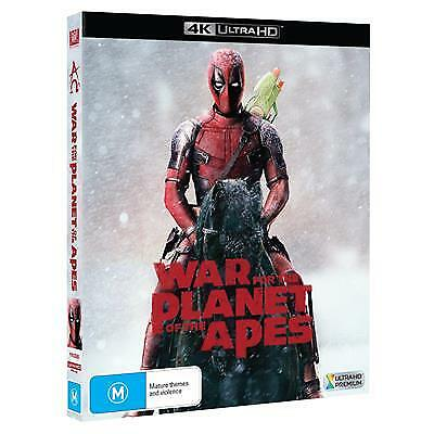 War for the Planet of the Apes - Deadpool Photob (4K Ultra HD, 2018) (Region B)