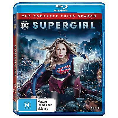 Supergirl : Season 3 (Blu-ray, 2018, 4-Disc Set) (Region B) New Release