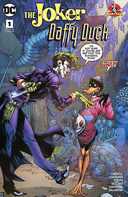 THE JOKER DAFFY DUCK SPECIAL #1 Cover A DC Comics Looney Tunes 1st Print NM