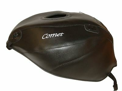 Hyosung Comet GT 125 =2009 Top Sellerie fuel Petrol Gas Tank Cover Black White