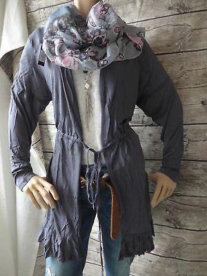 Joe Browns Jacke Strickjacke Cardigan Gr. 40/42 bis 56/58 Grau Blau (762)