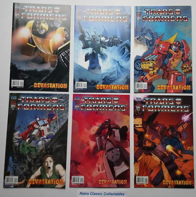 Transformers - Devastation comics # 1 - 6 - IDW - 2007 (all cover A)