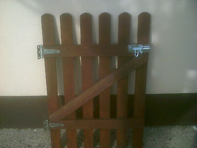 Wooden Picket Garden Gate Made From Quality Treated Wood 3Ft X 2Ft