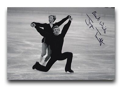 Jayne Torvill Hand Signed 12X8 Photo Figure Skating - Olympic Autograph.