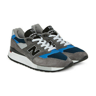 New Balance 998 Made In USA # M998NF Grey Blue Black Men SZ 8 - 13