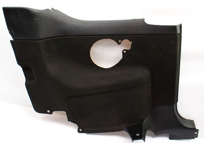 LH Rear Side Door Panel 99-02 VW Cabrio MK3 MK3.5 - Black - Genuine