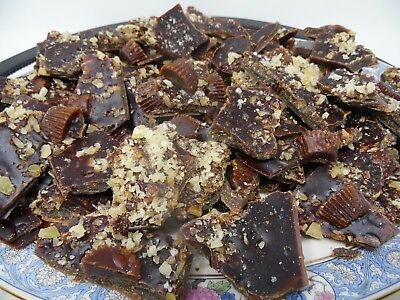 SCENTED MELTS TARTS 1/2 lb wax CHOCOLATE BARK CHOCOLATE CUPS CHOPPED NUTS EMBEDS