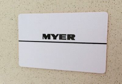$100 Myer Gift Card Free Postage