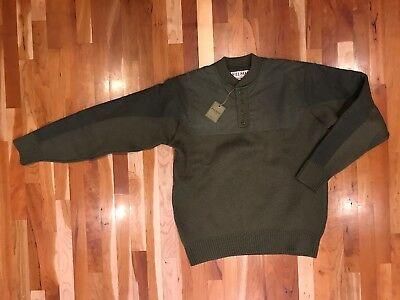 NEW Filson Mens HENLEY GUIDE SWEATER Medium Made in USA MSRP $375