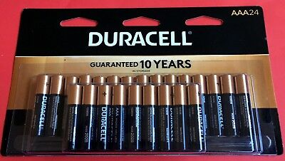 (24 Pack) Duracell AAA 1.5v Alkaline Batteries (Exp March 2028)