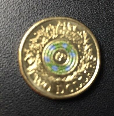 2017 $2 Coloured Remembrance   Lest We Forget Coin  New