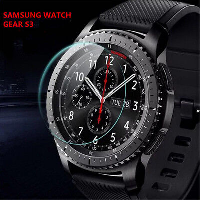 2Pcs Radiance A3 Frontier Smartwatch Tempered Glass For Samsung Gear S2/S3 U9