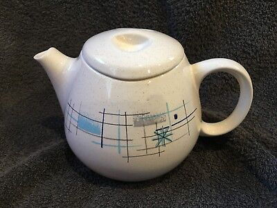 Franciscan Oasis Teapot and Lid .....Mid Century Modern