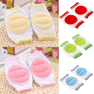 Fashion NEW Baby Crawling Knee Pads Safety Anti-slip Walking Leg Elbow Protector