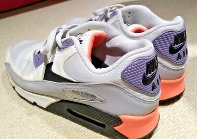 ed26a5e049 Nike Air Max 90 Essential Light Base Grey/Black–Iron Purple–Atomic Orange