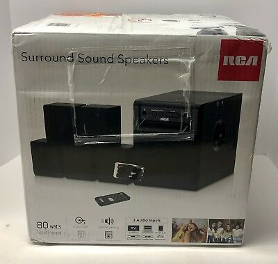 RCA RT151 5.1 Channel Home Theater System - Surround Sound Speakers